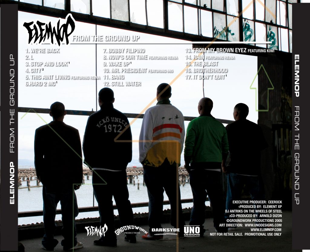 ELEMNOP---From-the-Ground-Up---Back-Cover-Tracklisting